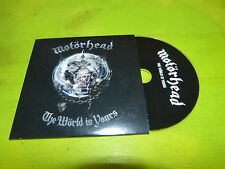 MOTORHEAD - THE WORLD IS YOURS !!!!!!!! CD PROMO !!!!!!!!