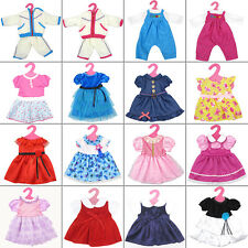 "Fashion Cute Clothes 17 Colors Doll Clothing Costume For 18"" American Tackle Kid"