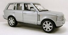 "Welly Land Rover Range Rover SUV 1:33 scale 6"" diecast model car Silver 9882 W51"
