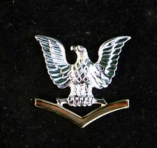 US NAVY 3rd CLASS PETTY OFFICER GOOD CONDUCT HAT PIN E-4 PO3 CROW USS GIFT WOW