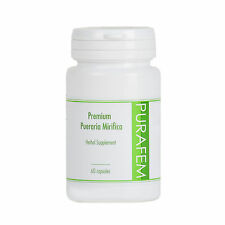 PURAFEM 100% Premium Pueraria Mirifica Extract 60 Capsules, Pills, Tablets