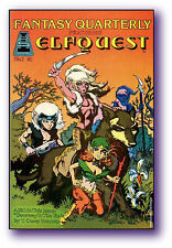 "ELFQUEST ""Fantasy Quarterly"" #1 new/old file copy - SIGNED!"