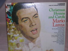 Christmas Hymns and Carols Mario Lanza RCA Camden CAS-777 VG / VG