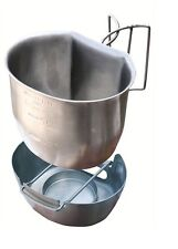 BRITISH ARMY STAINLESS STEEL BCB CRUSADER COOKING MUG & STOVE