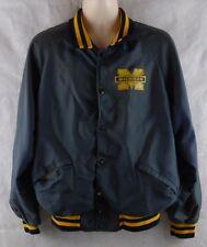Vintage Sir James Michigan Wolverines Snap Button Jacket Large-Xlarge