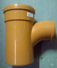 Soil Pipe 160 mm - Branch With 90 degree 110 mm Inlet - Push-Fit - Underground