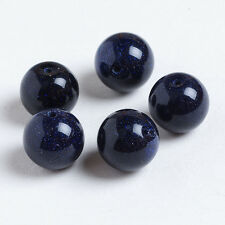 10mm/10PCS Fashion Jewelry Natural Gemstone Round Stone Spacer Loose Beads