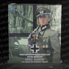 """DID German Wehrmacht Heer WH Tiger Ace """"Otto Carius"""" Standard Version 1/6 Figure"""