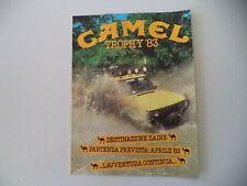 advertising Pubblicità 1983 CAMEL TROPHY '83 e RANGE ROVER