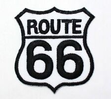 ROUTE 66 Will Rogers Highway Mother Road Harley Motocycle Big Bike IRON ON PATCH