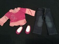 Genuine American Girl Doll Clothes-escuela días Outfit #2