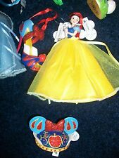 Disney Snow White Shoe - Mouse Hat - Gown Figurine Ornament