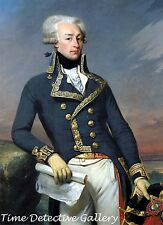 Marquis de Lafayette - Major General in the Revolutionary War Continental Army