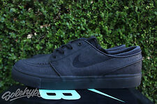 NIKE SB ZOOM STEFAN JANOSKI LEATHER SZ 10 BLACK ANTHRACITE 616490 007
