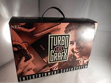 NEC TurboGrafx-16 Black Console (NEW IN BOX, NEVER PLAYED, COMPLETE) #S013