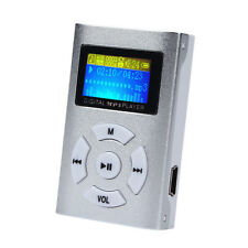 Mini USB2.0 Clip MP3 Music Player LCD Screen Support 8/16/32GB Micro SD TF Card