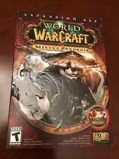 World of Warcraft WoW Mists of Pandaria (PC/Mac, 2012) Brand New Sealed