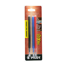 """Pilot Refill For Frixion Erasable Gel Ink Pen, Assorted, 3/pk"""