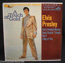 ELVIS PRESLEY-A Touch Of Gold Vol.1 Ep 45+Cardboard Sleeve-RCA VICTOR #EPA-5088
