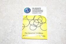 100 PIECE ASSORTED FLAT RUBBER WASHERS GASKETS FLAT WATCHES