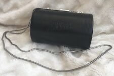 New Jean Paul Gaultier Black Clutch Bag With Chain