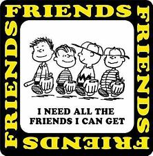 I Need All The Friends I Can Get (Peanuts) Schulz, Charles M. Hardcover