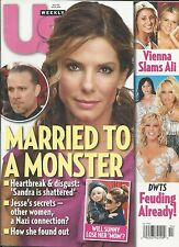 US Weekly magazine Sandra Bullock Jesse James DWTS Tiger Woods Leading ladies