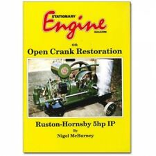 Stationary Engines on Open Crank Restoration Ruston-Hornsby 5hp IP book paper