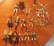 Xena Warrior Princess Action Figure and Weapon Lot