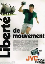 Publicité advertising 1995 Camera JVC Video