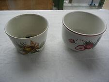 Villeroy et Boch 2  Petits Pots , Bols
