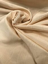 Vintage Curtain Fabric Hardy Moire Silk Melrose Calico Cream 20 Metre Roll