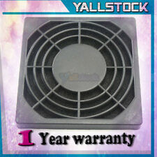 New Dustproof Dust Filter for PC Computer Fan S 80mm Black