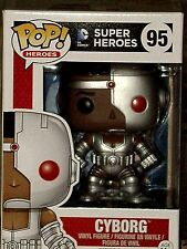 Pop! Heroes DC Comics Justice League CYBORG Funko Pop Vinyl Figure #95 * MINT