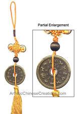 Chinese Folk Art - Chinese Knots - Chinese Feng Shui Coin / 12 Zodiac Symbols
