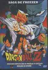 DRAGON BALL Z DVD LA SAGA DE FREEZER En Español SPANISH 78 EPISODIOS NEW