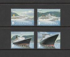 CRUISE SHIPS - Gibraltar  - 2007 set of 4 -(SC 1076-9)-MNH-B868