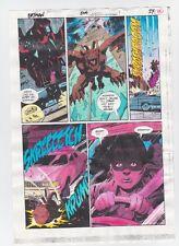 BATMAN #504 PAGE 17 ORIGINAL COMIC PRODUCTION ART COLOR GUIDE CODE FREE CATWOMAN