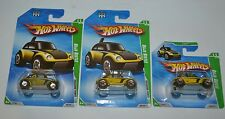 2010 HOT WHEELS BAJA BEETLE TREASURE HUNTS LOT OF THREE
