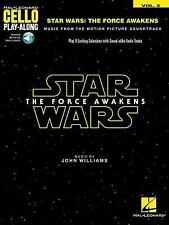 Star Wars: the Force Awakens : Cello Play-Along Volume 2 (2016, Paperback /...