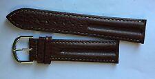 Bracelet De Montre Veau Fait Main,  20 MM Neuf.////