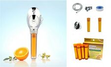 SONAKI SBH-104CR MASSAGE HANDHELD VITAMIN C SHOWER FILTER + 5 EXTRA FILTERS **
