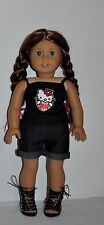 DOLL CLOTHES CUSTOM MADE FOR AMERICAN GIRL DOLL - LOT -HELLO KITTY SHORTS SET