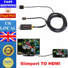 SlimPort To HDMI HDTV Adapter Connector + USB For Google Nexus 4 5 7/ LG G2 G3