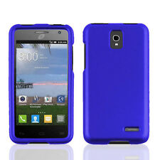 NEW FOR Alcatel One touch Pop Star Blue 2-PC RUBBERIZED HARD SKIN COVER CASE