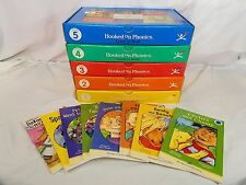 HOOKED ON PHONICS Learn to Read Levels 1-5 Cassette Tapes Workbooks Cards Books