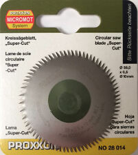Proxxon crosscut circular saw blade super cut 28014 / Direct from RDGTools