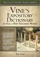 Vine's Expository Dictionary of the Old