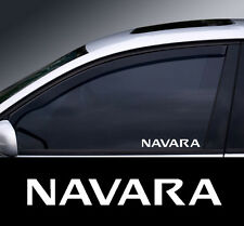2 X Nissan Navara Window Decal Sticker Gráfico * Color Elección *