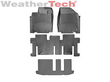 WeatherTech FloorLiner for Infiniti QX60 w/ 3rd row - 2014-2016 - Black